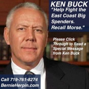 Ken Buck Help Recall Morse